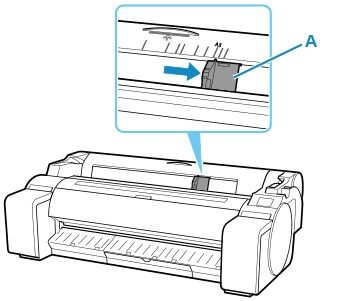 Canon : imagePROGRAF Manuals : TM-300 : Loading Sheets in