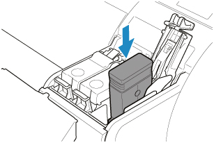 Canon : imagePROGRAF Manuals : TM-305 : Replacing Ink Tanks