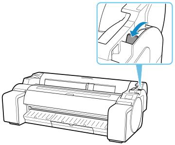 Canon : imagePROGRAF Manuals : TM-5300 : Removing Sheets