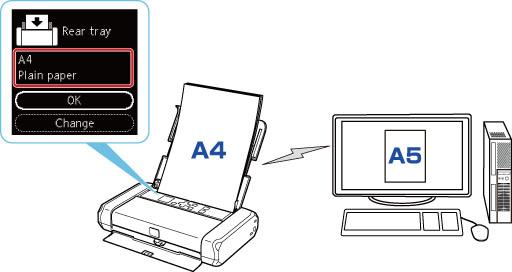Canon : Inkjet Manuals : TR150 series : Paper Settings