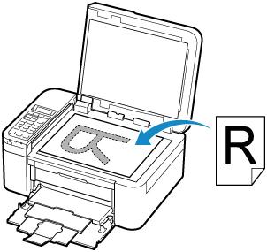 Canon : Inkjet-Handbücher : TR4500 series : Einlegen von
