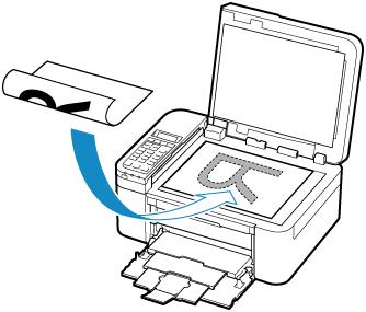 Canon : Inkjet-Handbücher : TR4500 series : Auflegen von