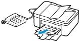 Canon : Inkjet Manuals : TR4500 series : Receiving Faxes