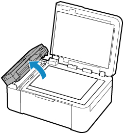 Canon : Inkjet Manuals : TR4500 series : Cleaning the ADF