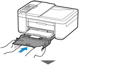 Canon : Inkjet 手冊 : TR4500 series : 載入相片紙