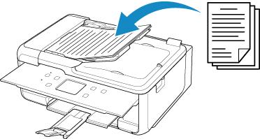 Canon : Manuales de PIXMA : TR7500 series : Dónde cargar