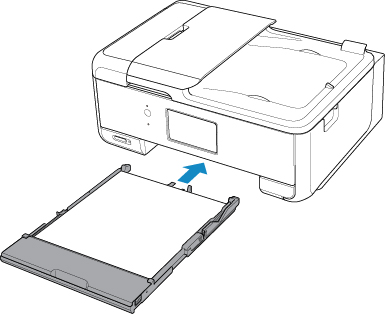 Canon : PIXMA Manuals : TR8500 series : Loading Paper in