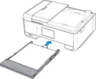 Canon : PIXMA Manuals : TR8500 series : Loading Paper in