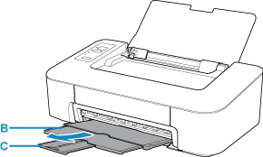Canon : PIXMA Manuals : TS200 series : Loading Plain Paper