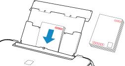 キヤノン:PIXUS マニュアル|TS5100 series|後トレイに用紙をセットする