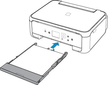 キヤノン:PIXUS マニュアル|TS5100 series|カセットに用紙をセットする