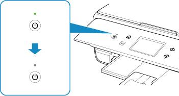 Canon : PIXMA Manuals : TS6100 series : Unplugging the Printer