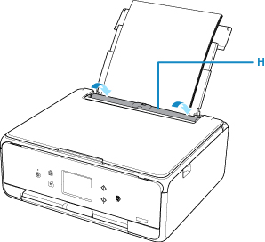 Canon : PIXMA Manuals : TS6100 series : Loading Paper in