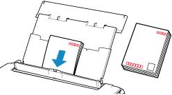 キヤノン:PIXUS マニュアル|TS6130 series|後トレイに用紙をセットする