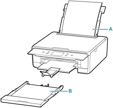 Canon : Manuales de PIXMA : TS6200 series : Fuentes de papel