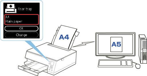 Canon : PIXMA Manuals : TS6300 series : Paper Settings