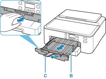 Canon : Podręczniki Inkjet : TS700 series : Czyszczenie