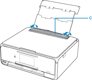 Canon : PIXMA Manuals : TS8100 series : Loading Paper in