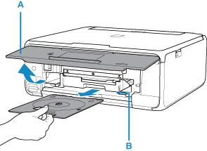 Canon : Manuels PIXMA : TS8100 series : Insertion d'un