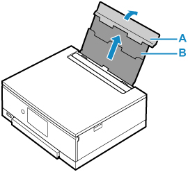 Canon : PIXMA Manuals : TS8200 series : Loading Paper in