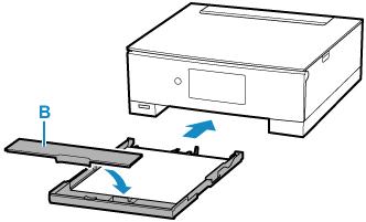 キヤノン:PIXUS マニュアル|TS8230 series|カセットに用紙をセットする