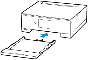 Canon : Manuais PIXMA : TS8300 series : Configurações de Papel
