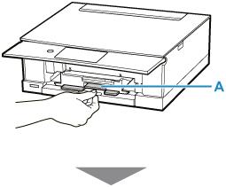 キヤノン:PIXUS マニュアル|TS8330 series|プリンタブルディスクをセットする