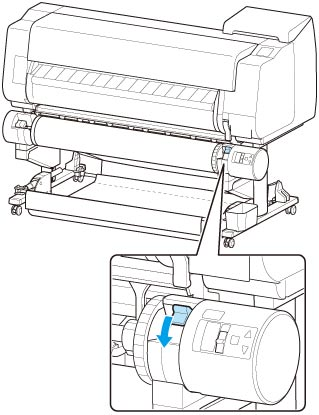 Canon : imagePROGRAF Manuals : TX-3000 : Loading the Lower