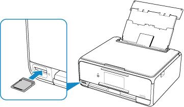 キヤノン:PIXUS マニュアル XK50 series メモリーカードから写真を印刷する