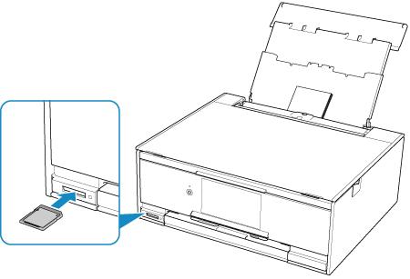 キヤノン:PIXUS マニュアル XK70 series メモリーカードから写真を印刷する
