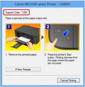 Canon : Ръководства за PIXMA : MG3500 series : Засядане на