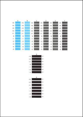 Canon : Manuales de PIXMA : MX720 series : Alineación