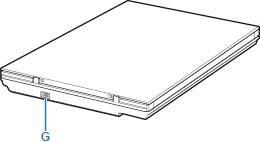 Canon : Manuali CanoScan : LiDE 300 : Componenti principali