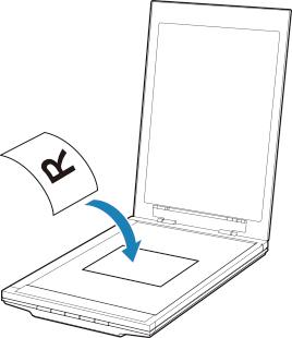 キヤノン:CanoScan マニュアル LiDE 400 原稿台に原稿をセットする