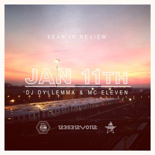 """DJ Dyllemma & MC Eleven - """"b'ak'tun"""""""