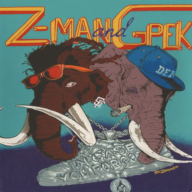 Z-Man and G-Pek - In Case You Forgot
