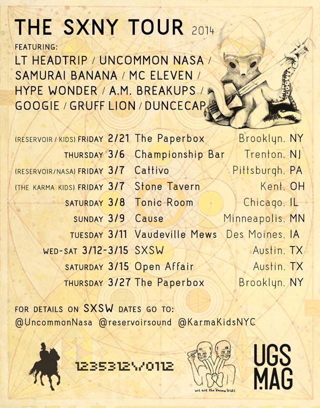 The SXNY Tour 2014