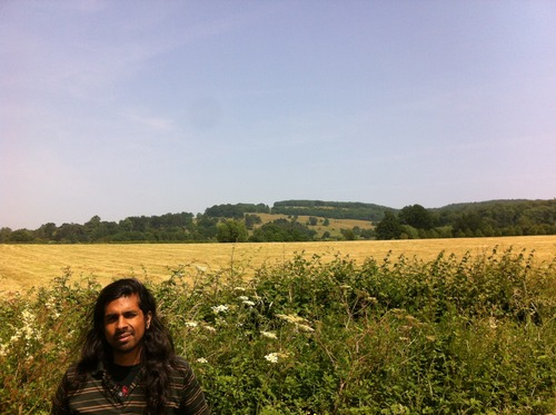 Raj in the countryside, site of recording VAllEY