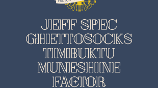 """Factor - """"Four for the Road"""" ft. Jeff Spec, Ghettosocks, Timbuktu and Muneshine"""