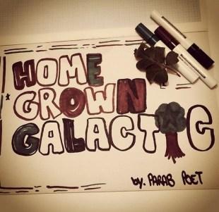 "Parab Poet - ""Homegrown Galactic"""