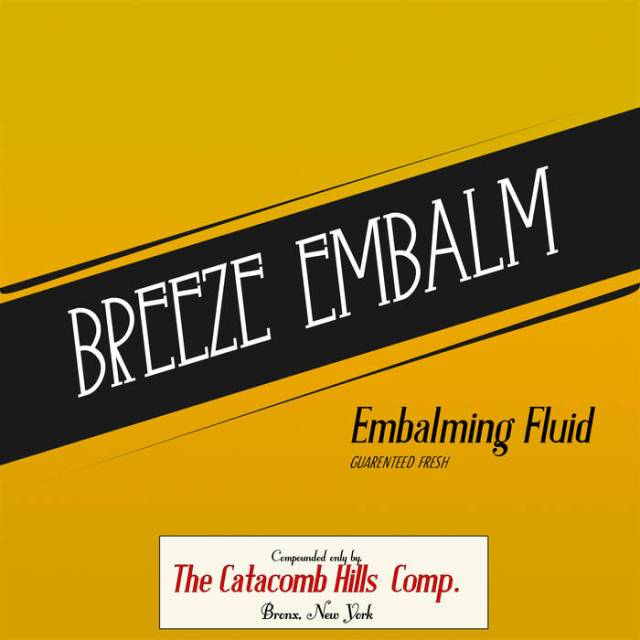Breeze Embalm - Embalming Fluid