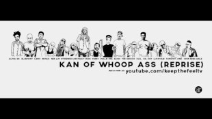 """Abstract Rude – """"Kan Of Whoop Ass (Reprise)"""" feat. Blueprint, Psalm One, Musab, LMNO, Neb Luv, Otherwize, Kail, VerBS, Open Mike Eagle, Alpha MC, Droop Capone, Luckyiam, Sunspot Jonz, Eligh, The Grouch"""