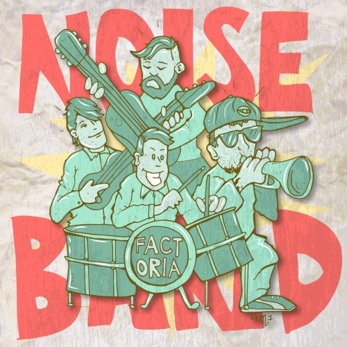"Factor Chandelier – ""Noise Band"" feat. Ceschi, Awol One, Gregory Pepper"