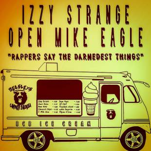 "Izzy Strange - ""Rappers Say The Darnedest Things"" feat. Open Mike Eagle"