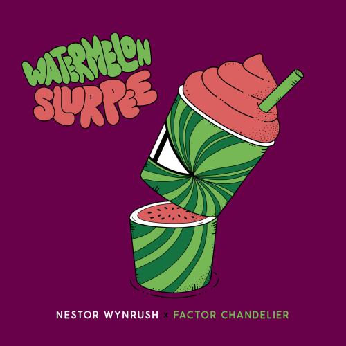 """Nestor Wynrush x Factor Chandelier """"Watermelon Slurpee"""""""