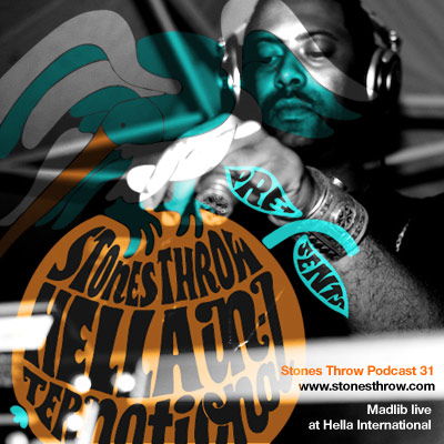 Stones Throw Podcast #31 - Feat. Madlib