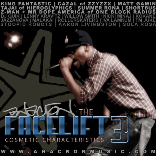 Anacron - The Facelift 3: Cosmetic Characteristics
