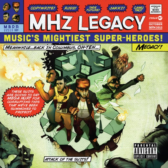 """MHz Legacy - """"Spaceship"""" Ft. Danny Brown (Prod. By Harry Fraud)"""