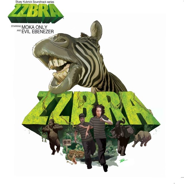 ZZBRA (Moka Only & Evil) - The Original Motion Picture Soundtrack