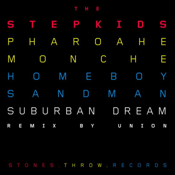 "The Stepkids - ""Suburban Dream Remix"" ft. Pharoahe Monch and Homeboy Sandman"